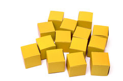 Cubos vermelhos Imagem de Stock