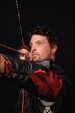 Cubra Archer con cuero revestido Fotografía de archivo