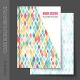 Cubra el diseño para el folleto del negocio, informe anual libre illustration