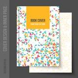 Cubra el diseño para el folleto del negocio, informe anual ilustración del vector