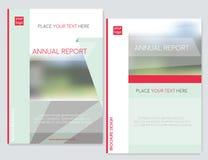 Cubra o projeto para o inseto do folheto do folheto, informe anual Abstraia o fundo com Tamanho borrado do fundo A4 ilustração royalty free