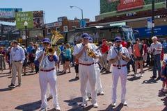 Cubs Chicage ζώνη Στοκ Φωτογραφίες