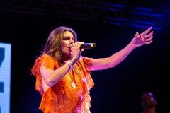 Cuca Roseta, Portugal Kriol Jazz Festival lizenzfreies stockbild