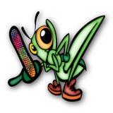 Cucaracha enojada Fotografía de archivo libre de regalías