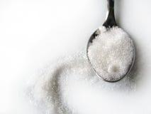 Cucchiaino da tè dello zucchero Fotografie Stock