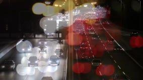 Cucchiaio con due mirtilli americani archivi video