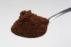 Cucchiaio di caffè Fotografia Stock