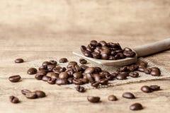 Cucchiaio di caffè Fotografie Stock