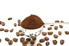 Cucchiaio di caffè Fotografia Stock Libera da Diritti