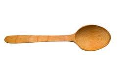 Cucchiaio di legno Fotografie Stock