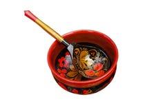 Cucchiaio e tazza Fotografie Stock Libere da Diritti