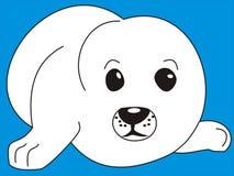 cucciolo del Guarnizione-cane Fotografia Stock