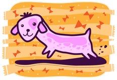 Cucciolo ed archi Fotografia Stock
