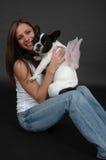 Cucciolo leggiadramente fotografia stock