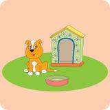 Cucciolo su una radura Immagine Stock