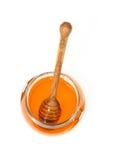 Cuchara de la miel Imagen de archivo libre de regalías