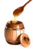 Cuchara de la miel Foto de archivo