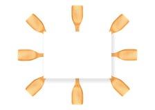 Cuchara de madera Fotografía de archivo libre de regalías