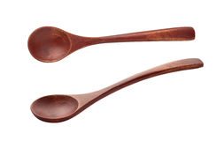 cuchara de madera Imagen de archivo
