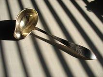 Cuchara de sopa fotografía de archivo
