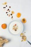 Cuchara sana del desayuno Imagenes de archivo