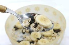Cucharada de cereal Fotografía de archivo