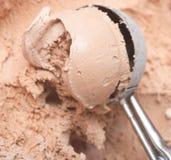 Cucharada del helado imágenes de archivo libres de regalías