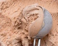 Cucharada del helado imagen de archivo libre de regalías