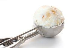 Cucharada del helado Fotografía de archivo libre de regalías