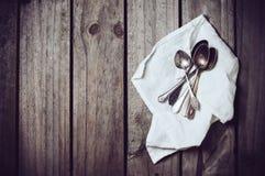 cucharas Fotos de archivo