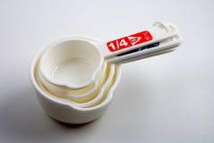 Cucharas dosificadoras imagen de archivo libre de regalías