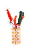 Cucharas y cuchillos Fotos de archivo