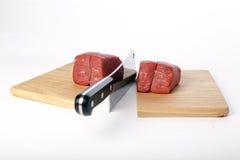 Cuchilla de carne Fotografía de archivo libre de regalías