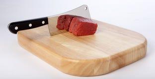 Cuchilla de carne Imágenes de archivo libres de regalías