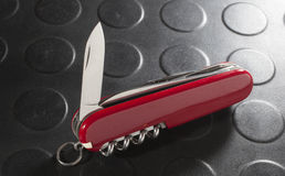 Cuchilla de cuchillo Fotografía de archivo