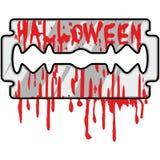 Cuchilla de Halloween Fotografía de archivo
