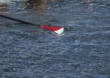 Cuchilla en el agua Imagen de archivo libre de regalías
