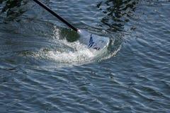 Cuchilla en el agua Fotos de archivo