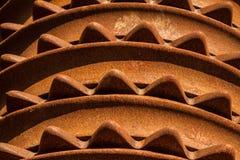 Cuchillas arables viejas del rodillo de Cambridge Fotografía de archivo
