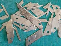 Cuchillas de cortador fotos de archivo libres de regalías