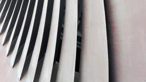 Cuchillas de turbina Imagen de archivo