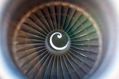 Cuchillas giratorias del turborreactor Imagenes de archivo