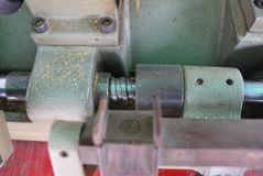 Cuchillas para corte de metales fotos de archivo