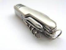 Cuchillo de bolsillo aislado imagen de archivo libre de regalías
