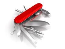 Cuchillo de bolsillo, navaja stock de ilustración