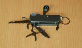 Cuchillo de bolsillo plegable foto de archivo
