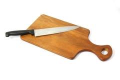 Cuchillo de carnicero Fotografía de archivo libre de regalías