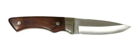 Cuchillo de caza Foto de archivo libre de regalías