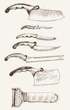 Cuchillo de cocina Fotografía de archivo libre de regalías