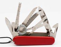 Cuchillo de ejército suizo Fotos de archivo